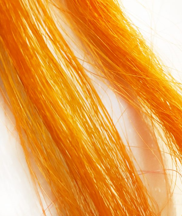 Paardenhaar-armband-Million-Horse-gekleurd-geverfd-oranje