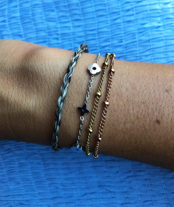l'Amore_bracelet_million_horse_paardenhaar_armband_1