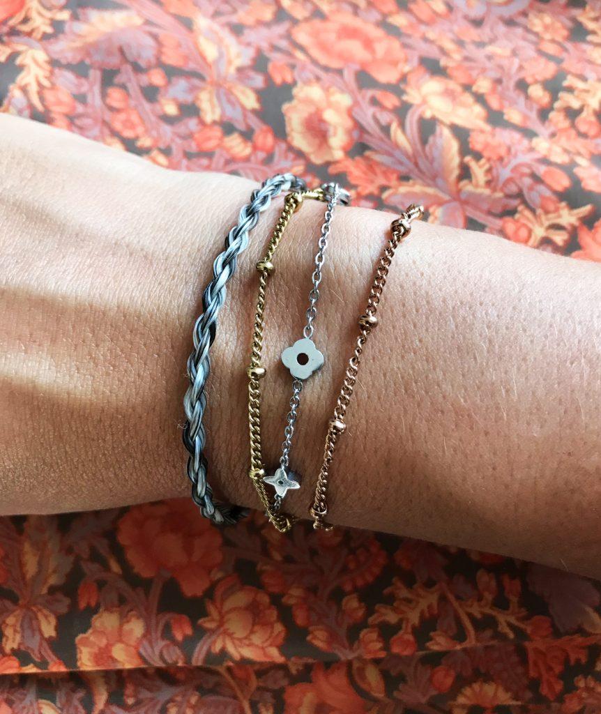 l'Amore_bracelet_million_horse_paardenhaar_armband_2